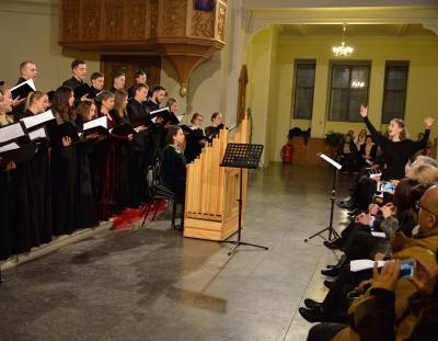 Рождественский концерт посольства Германии в Москве, 15.12.2018