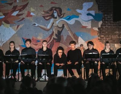 Перформанс «SOS 2.0. Сценическая кантата», май 2018
